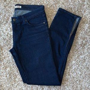 J brand skinny jeans with zipper